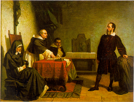 Galileo facing the Roman Inquisition Christ Ahnsahnghong leads us through the narrow gate!!